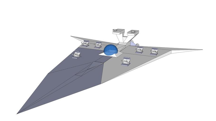 Neboulin class escort battleship