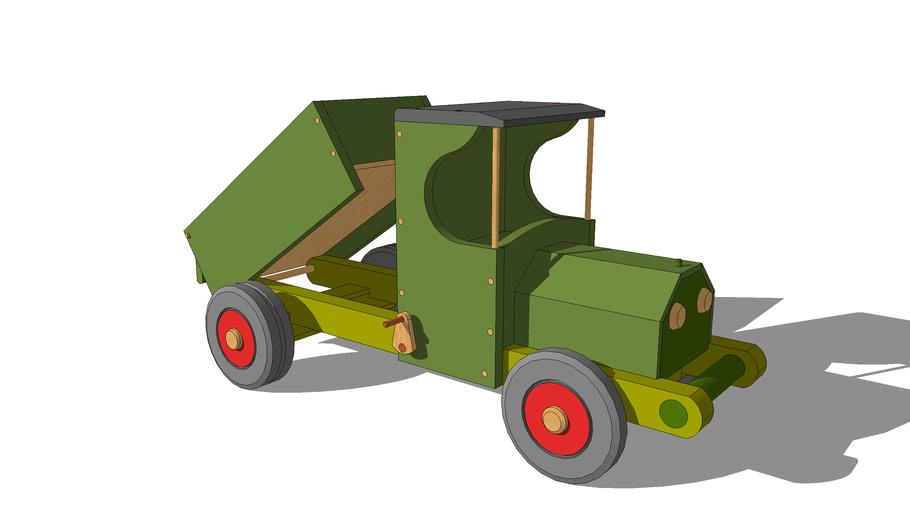 Wooden Dump Truck