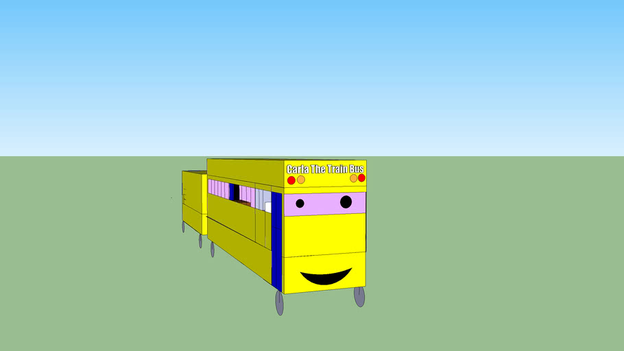 Carla The Train Bus
