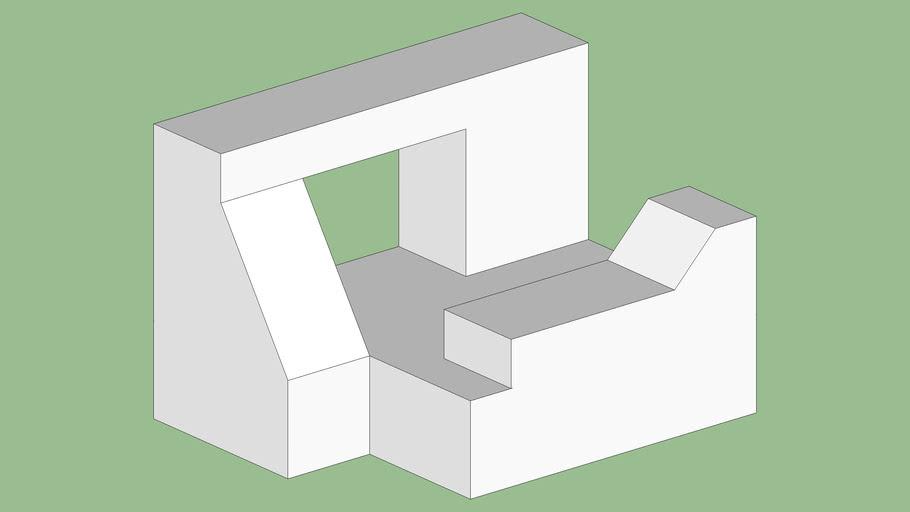 University 3D Shape