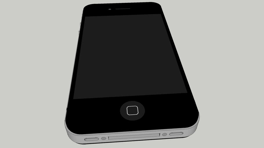 iPhone 4, Very Detailed, Real Life Size