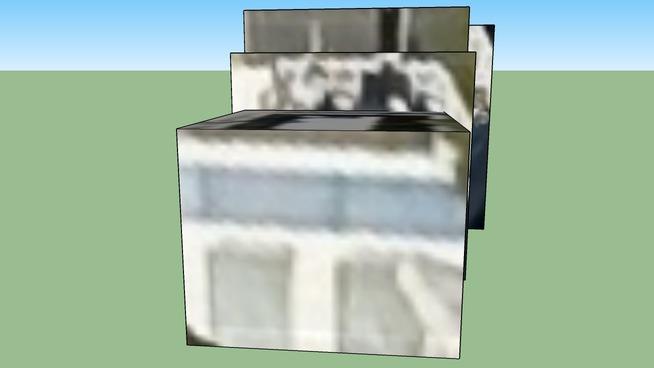 Model van gebouw