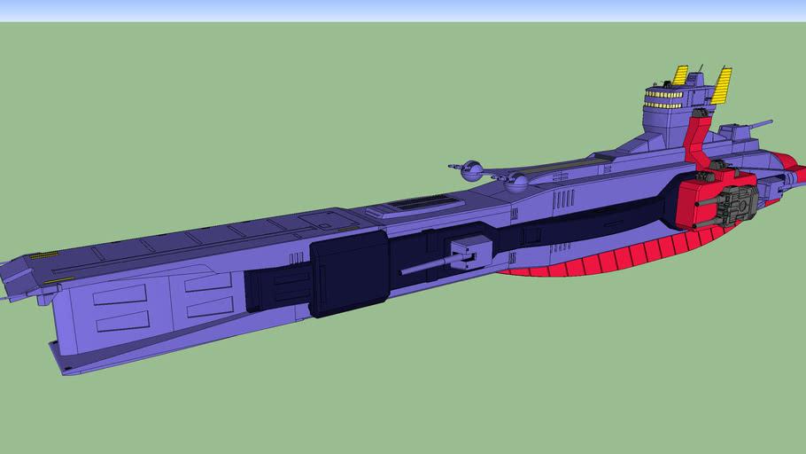 Salamis kai class cruiser / サラミス改級巡洋艦