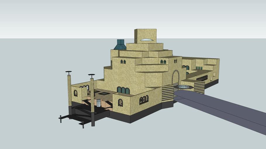 卡塔尔伊斯兰艺术博物馆 museum of islamic art