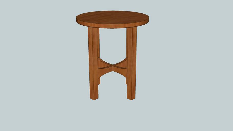 Gustav Stickley No. 603 Tabouret from Woodworking Magazine Issue 9