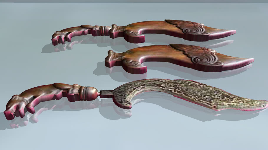 Kujang - Traditional Weapon
