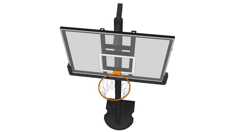 cesta basquete portátil