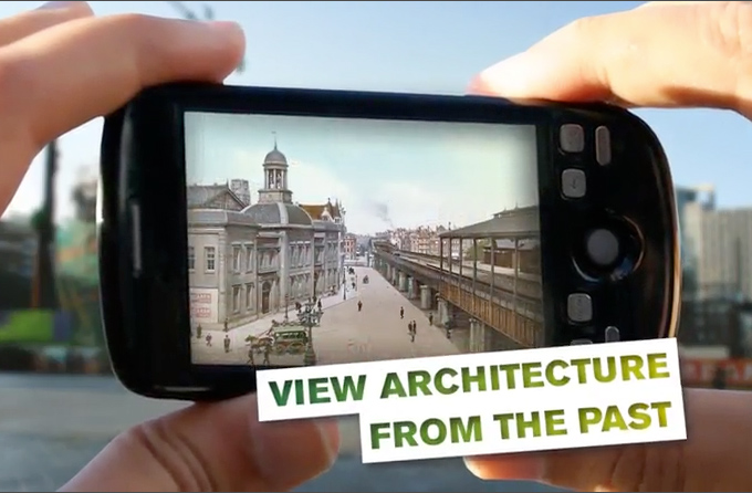 UAR, Augmented reality form the Netherlands Architecture institute (NAi)