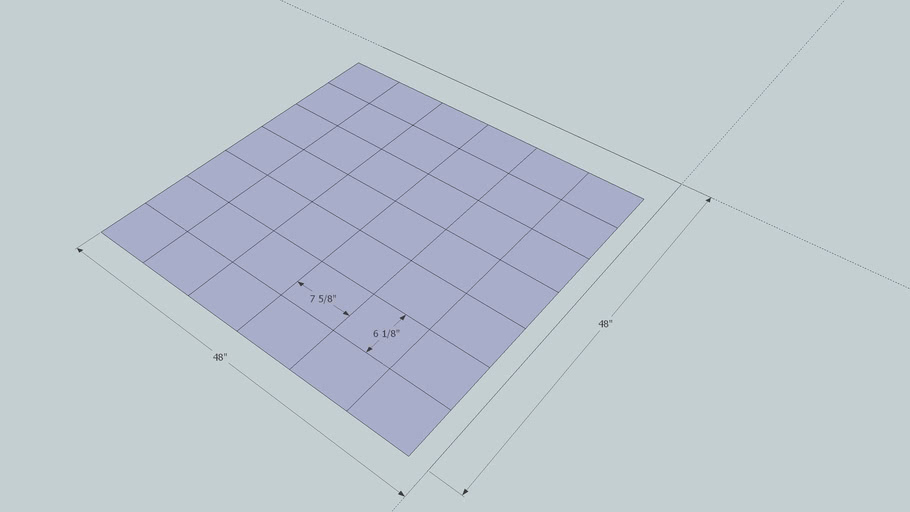 "5-Frame Medium Nuc Layout end pieces 7-1/2"" L x 6"" H"