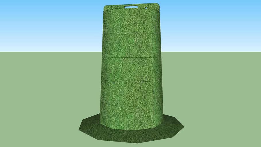 grass traffic cone 1