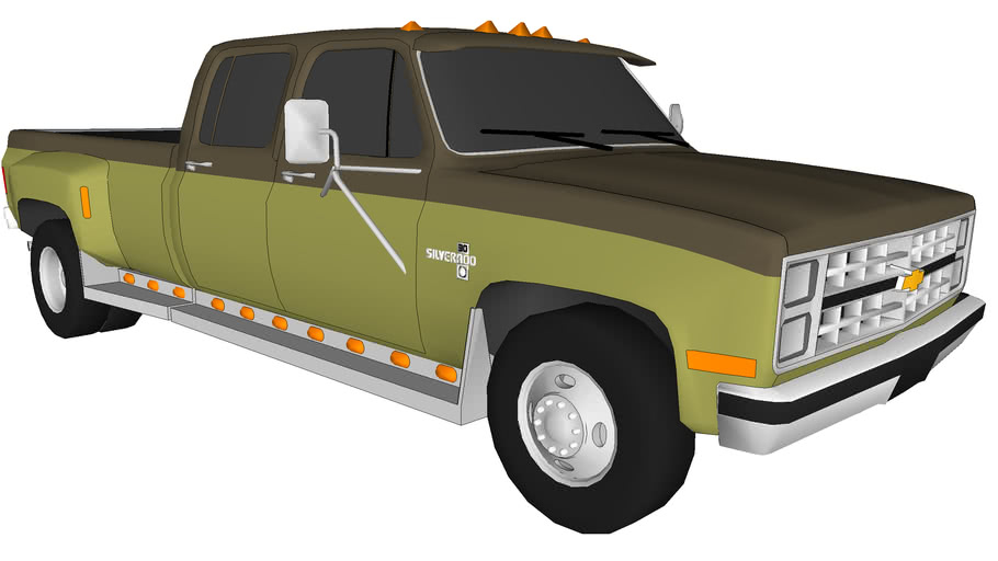 1986 Chevy Silverado Dually Crew Cab