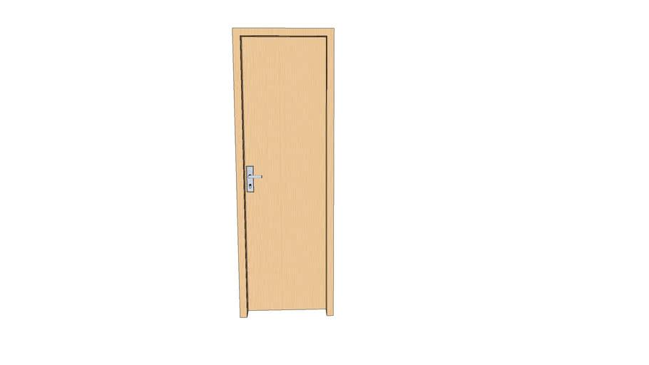 Porta de madeira, wood door 60cm x 200cm