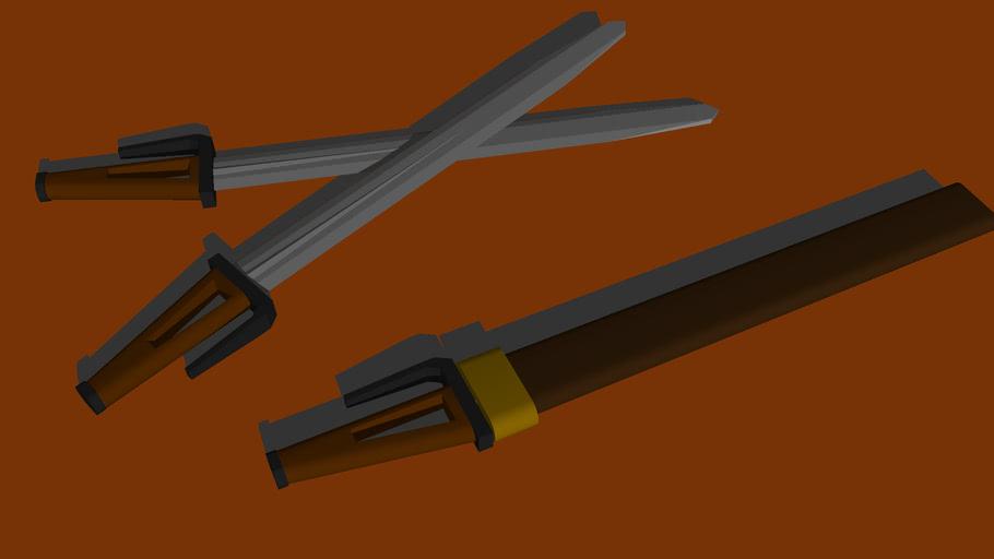 Araki Short Swords