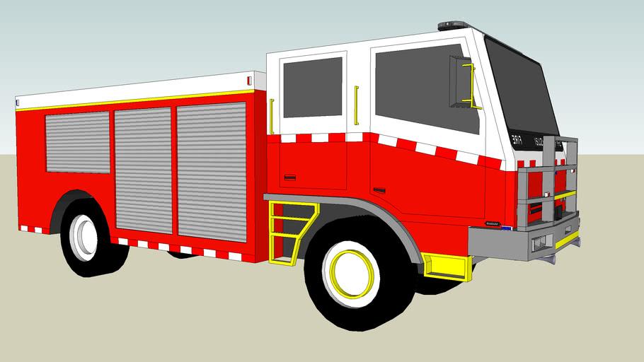 Fire pumper
