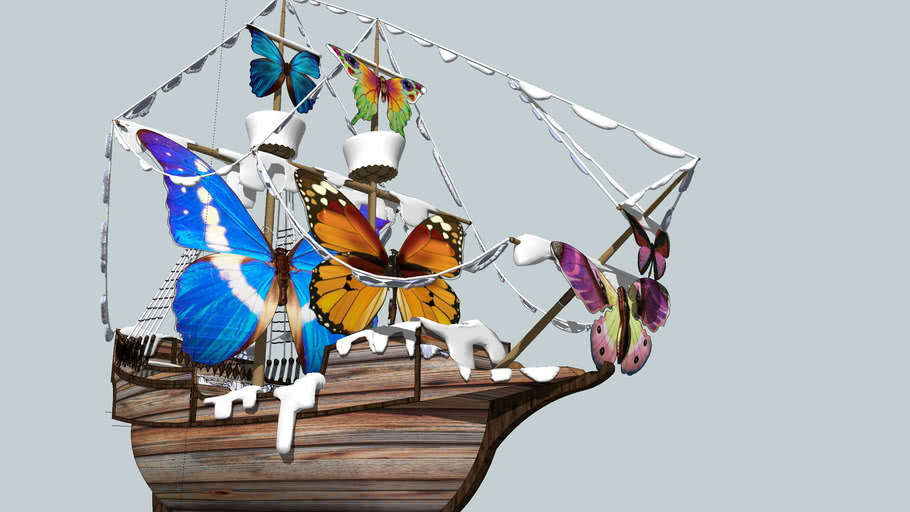 BUTTERFLY SAIL SHIP