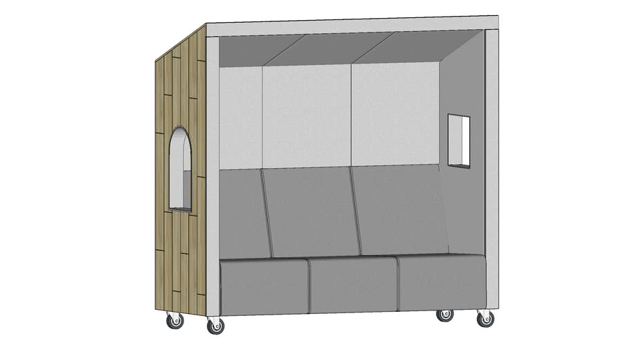 Acoustic booth by Bejot - Beachhouse BHW