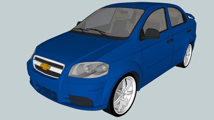 2008 Chevrolet Aveo LT/ Daewoo Gentra Sedan (T250)