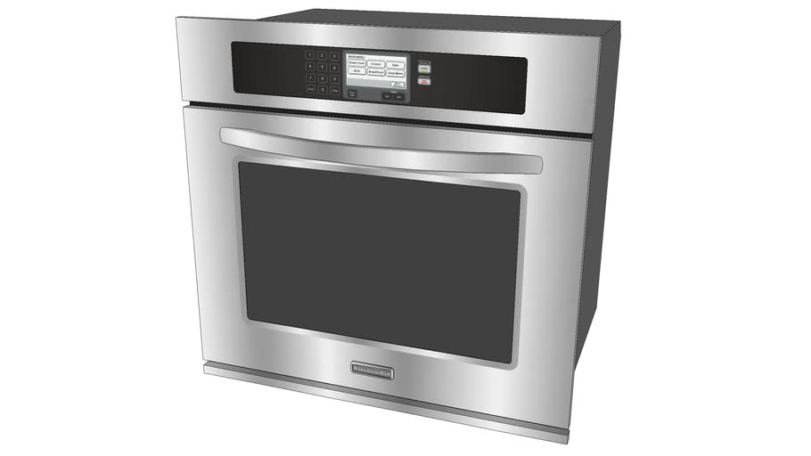 """KitchenAid 30"""" Built-In Single Oven"""