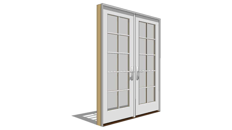 Architect Series Traditional: Out-Swing Door - Active - Passive