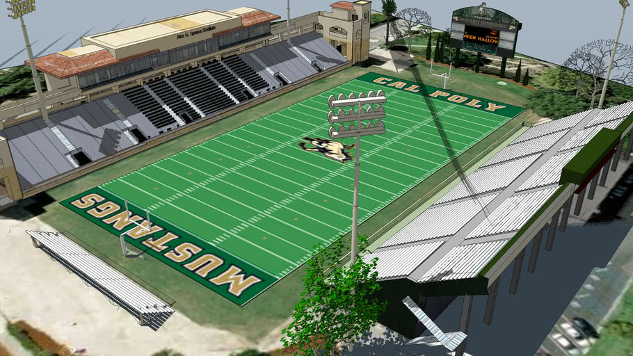 Cal Poly - Alex G. Spanos (Mustang) Stadium (2012)