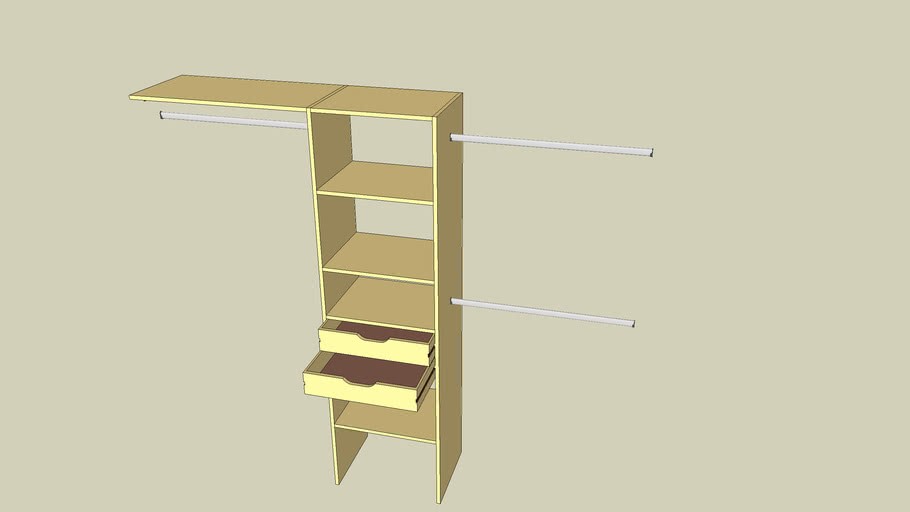 Cupboard shelves