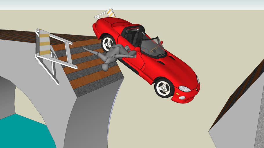 bridge accident!!!full 3d scene!