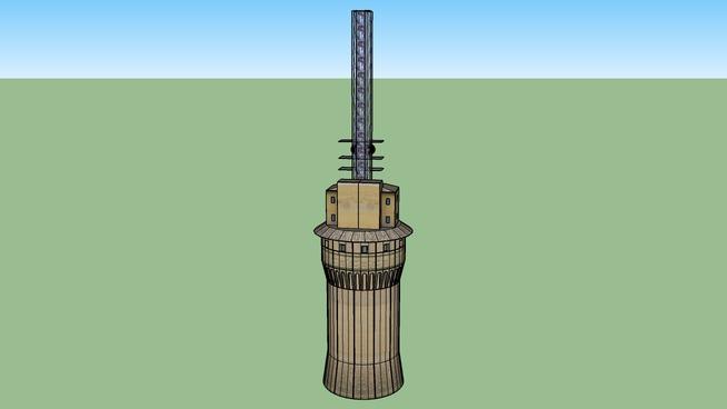 Vatican. Radio. Mast on tower
