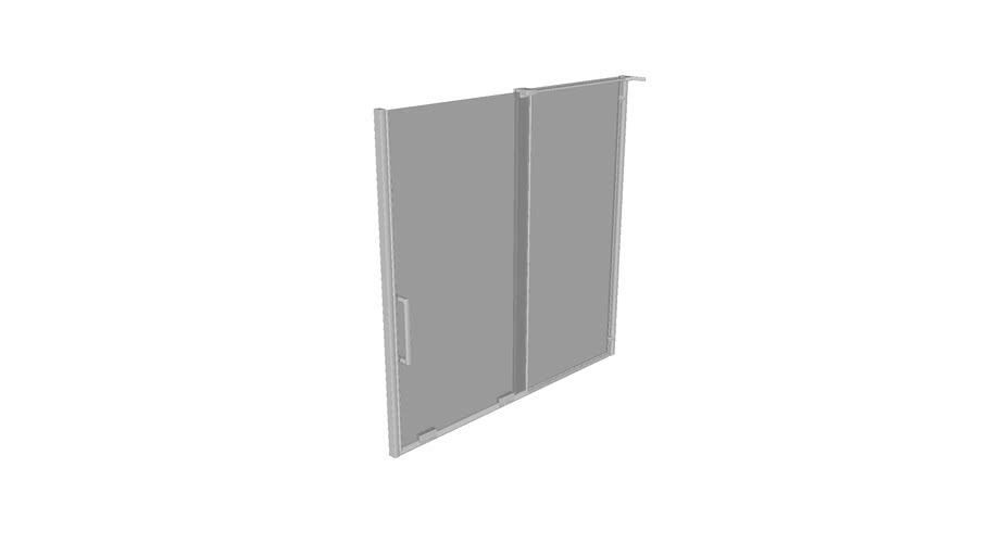 K-707623-8D3 5/16 Bath Door 58 X 59 5/8