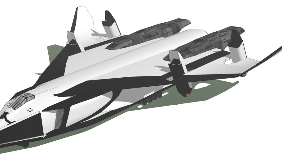 SPACE SHUTTLE from the movie avatar.