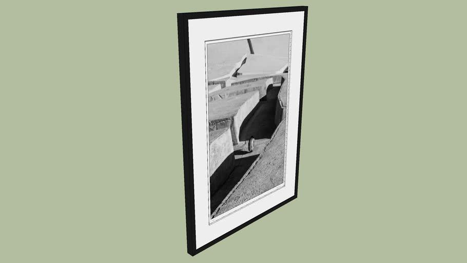 "BRODZIAK ""Labyrinth #01"" 73x99cm - Black&White, Photography, Image, Picture"