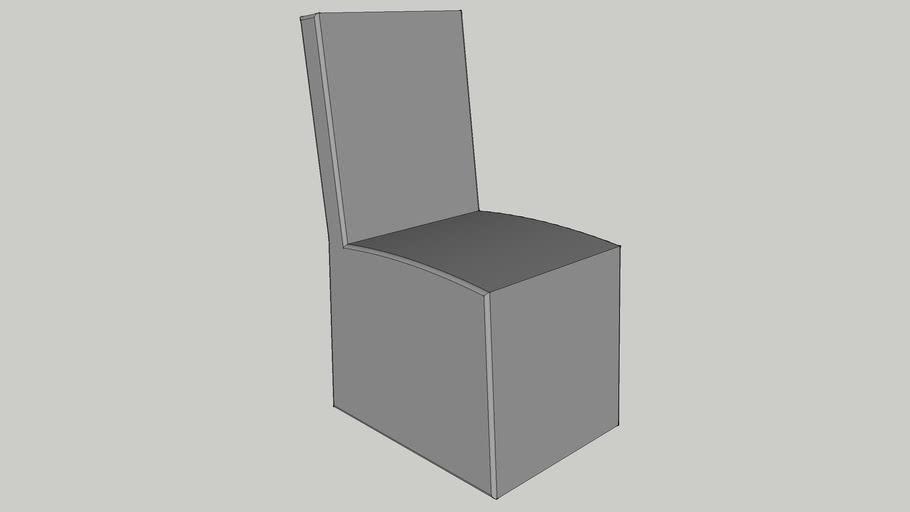 CI - Eloise Chair - Side, Pebble Grey