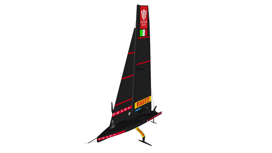 Luna Rossa 2 Prada Pirelli Team - AC75 - Barca a Vela