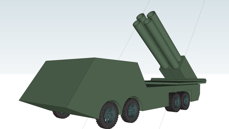 HR-11 rocket launcher 400mm