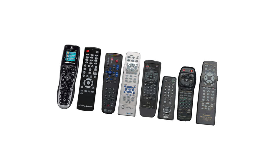 Dalkove ovladace_Remote Control Set