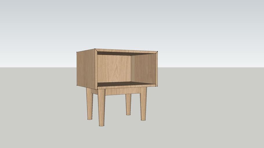 Habitat Aggy Bedside Table
