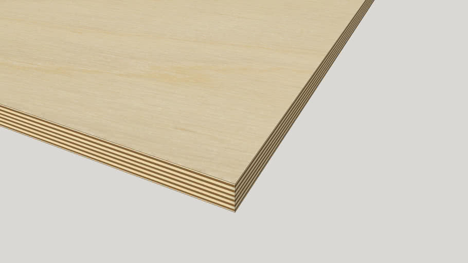Baltic Birch Plywood Materials vol 1