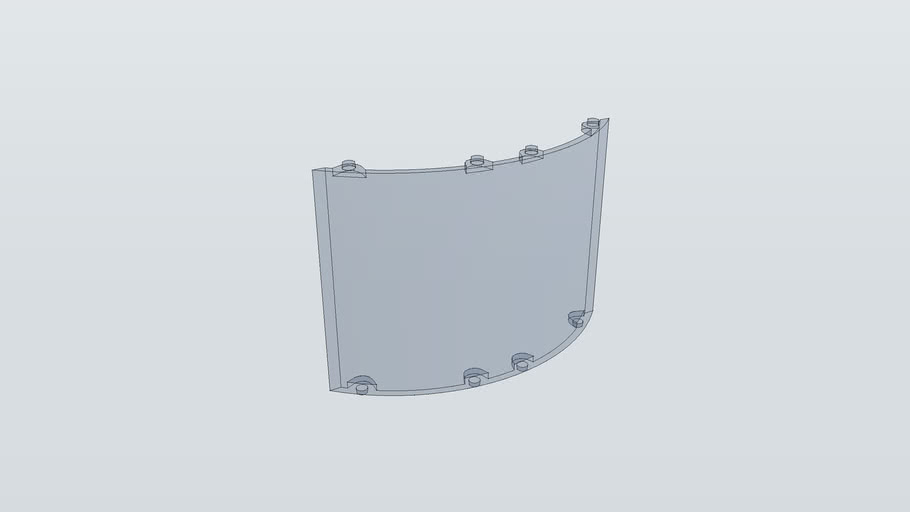 ARCKIT WALL CURVED 02 CLEAR