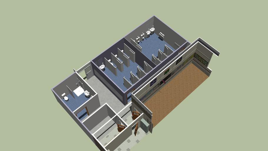 Shower Block concept - TSAG