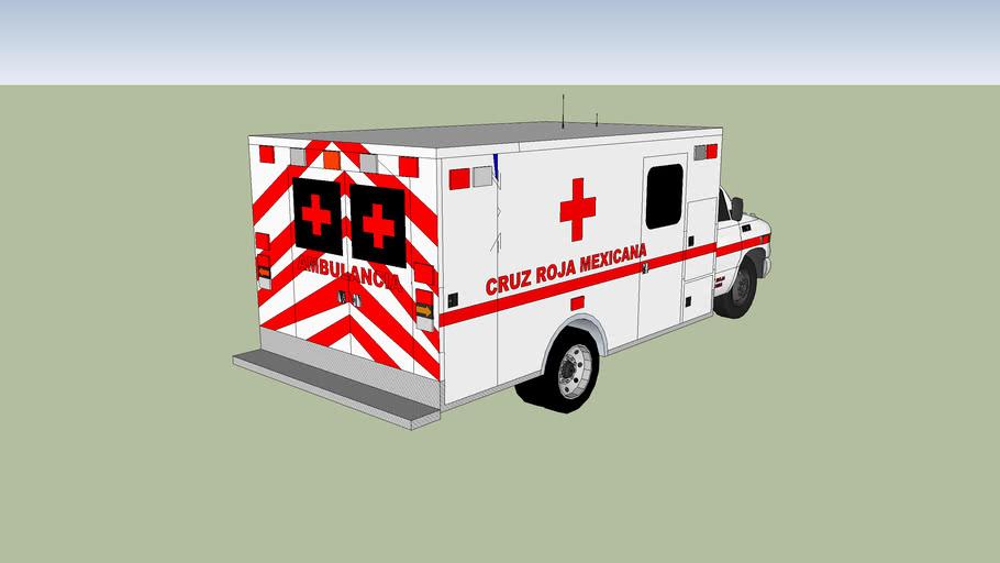 ambulancia cruz roja mexicana de queretaro