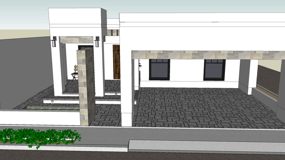 Diseño de fachada Casa Familia Padilla Sotelo