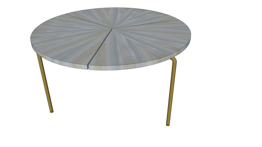 CB-36 Circular Coffee Table Ash