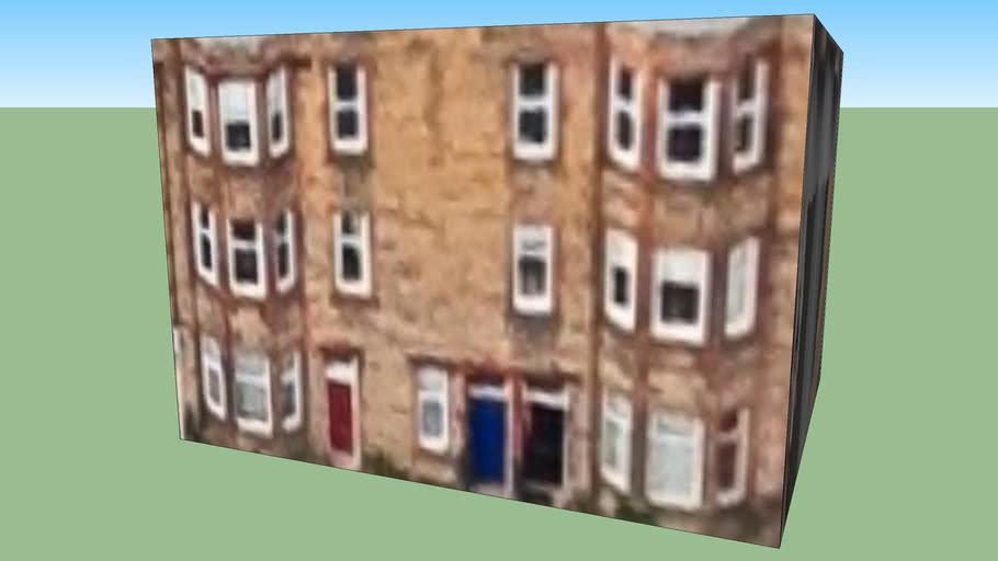 Bâtiment situé Edimbourg, Royaume Uni