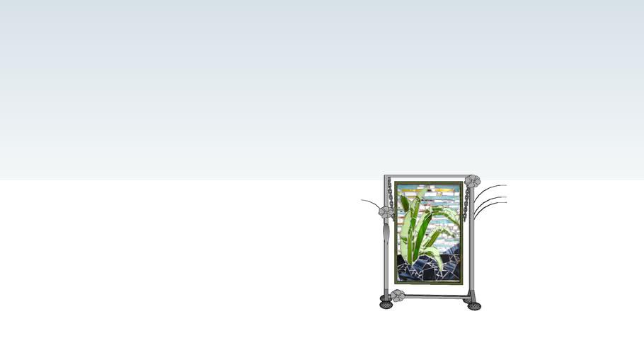 AED Grass Glass Mosaic Medium