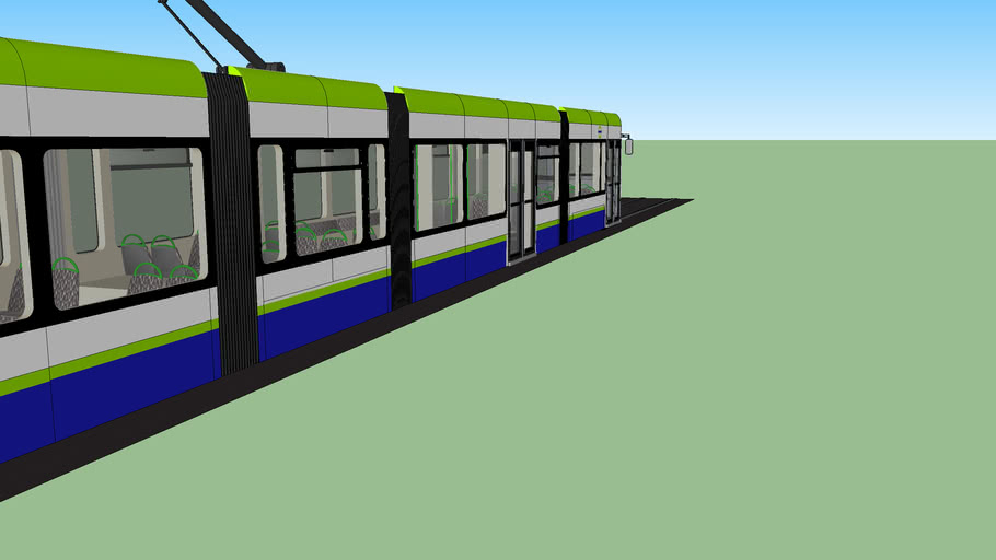London New Croydon Trams