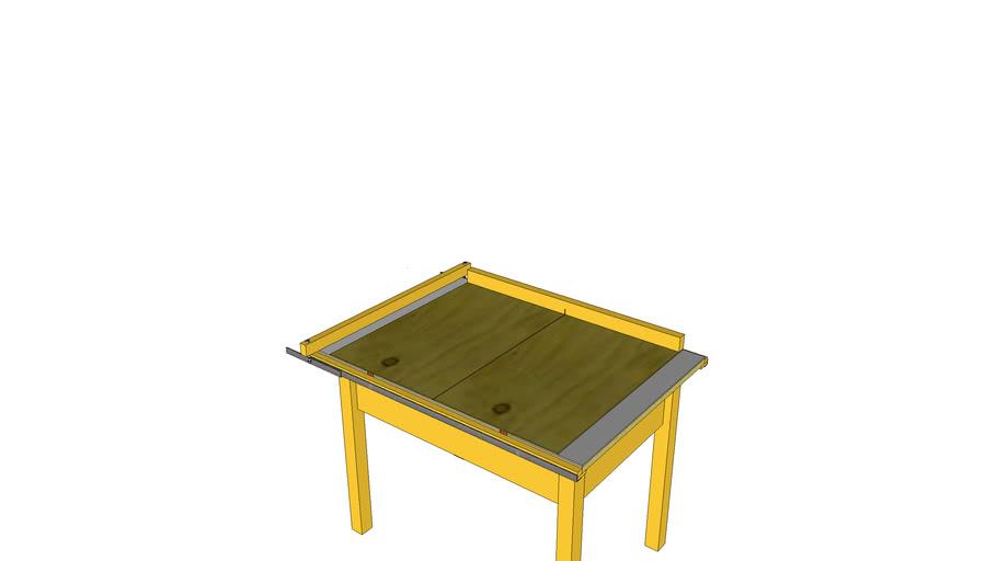 Table for circular saw/ Стол для ручной циркулярной пилы