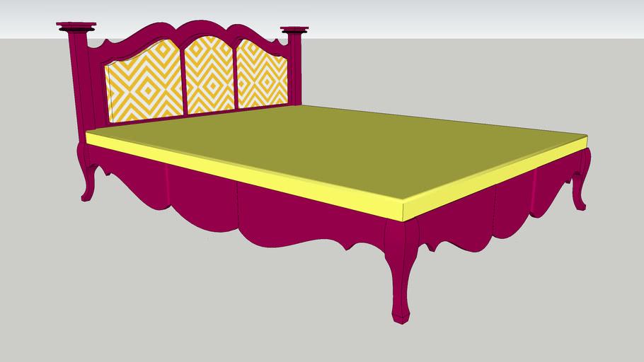 furniture, bed, double bed , yatak , lukens