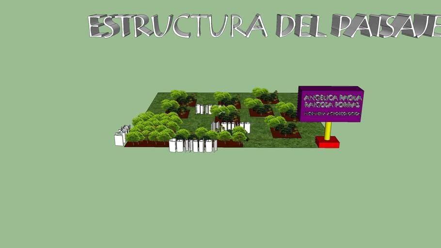 estructura del paisaje