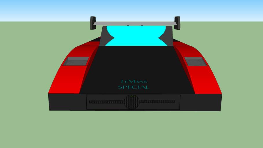 Le Mans 24 Hours Special car GREN