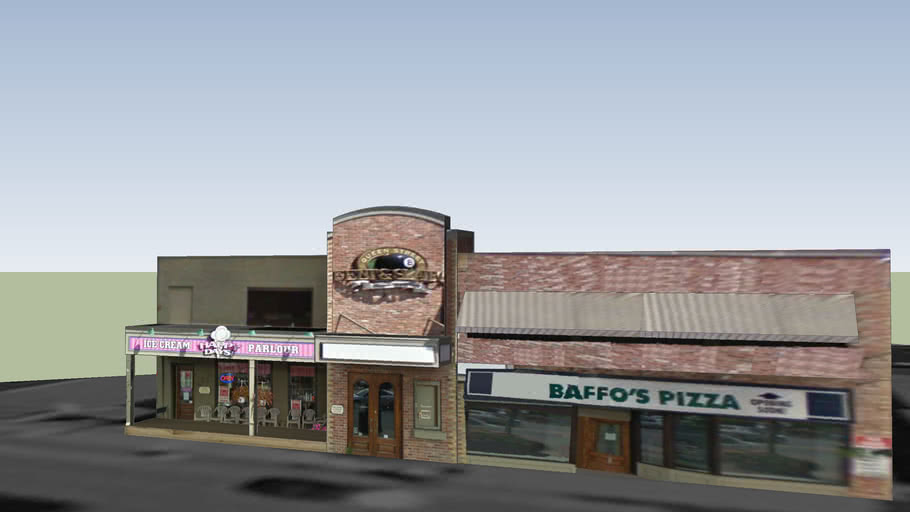 Happy Days and Baffo's Pizza