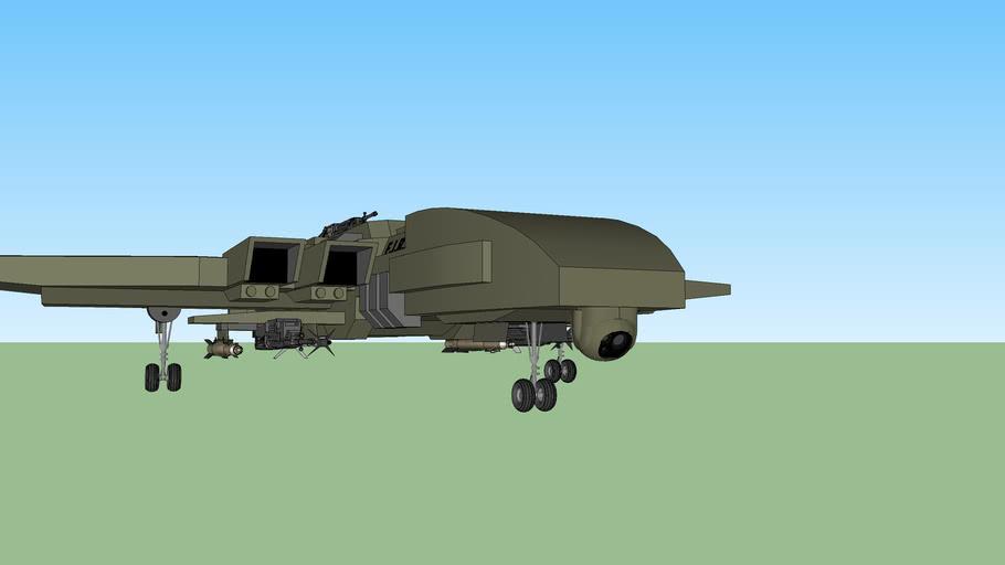 Custom F.I.R.E UAV Drone